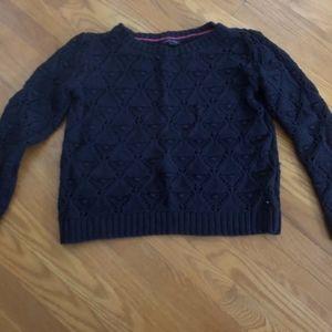 Tommy Open Knit Sweater